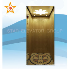 Small MRL home elevator lift for 5 persons