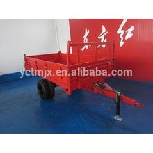 Tractor remolque dos ejes remolque de cuatro ruedas 7CX-5