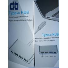 С USB3.1 Тип-концентратор С для MacBook