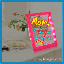 Best selling in UK school notice writing led board promotion christmas gift kids drawing toys led flash write board glowing draw