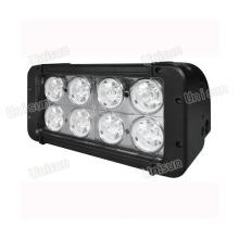 """Barra de luz LED auxiliar de 12V-24V 8 """"80W 8X10W"""