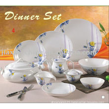 47PCS DINNER SET(DINNER SET WITH DECORATION CERAMIC DINNER SET)