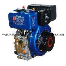 Motor a diesel de cilindro único refrigerado a ar 10HP (KA188F)
