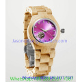 High-Grade Wooden Automatic Watch, Many Color (Ja- 15191)