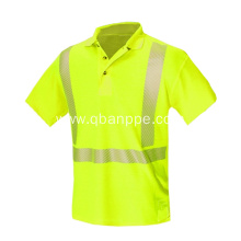 hi vis safety polo shirt logo custom