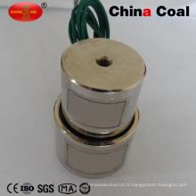 Électro-aimant de levage électrique d'aimant de levage de 12V 24V DC tenant le solénoïde