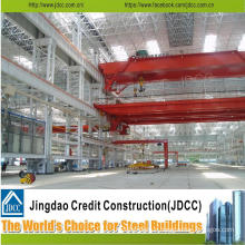 Low Cost Structural Steel Factory Workshop