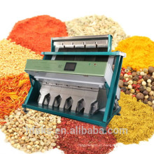 Machine de nettoyage colorée Machine à classer par couleur aux abricots aux amandes