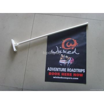 Bukti Air Promosi Depan Serambi Wall Flags Signs