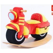 Factory Supply Jouet à bascule à bois Rocking Motorcycle