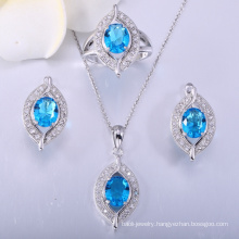 Stylish luxury custom sterling silver jewelry set for mother's Day