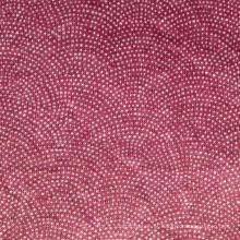 Linho tecido impresso de malha (QF15-2384)