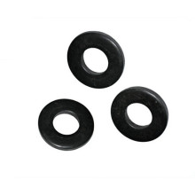 Black Plain Flat Washers with Flat Gasket
