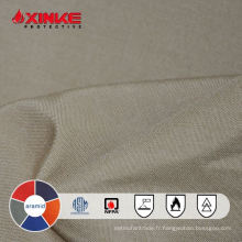 Tissu de fibre d'aramide de FR pour des vêtements utilisés dans l'industrie explosive