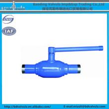 API 6D válvula de bola válvula de bola de acero fundido válvula de bola de soldadura