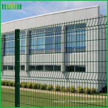 Cerca de jardim de plástico verde com certificação ISO