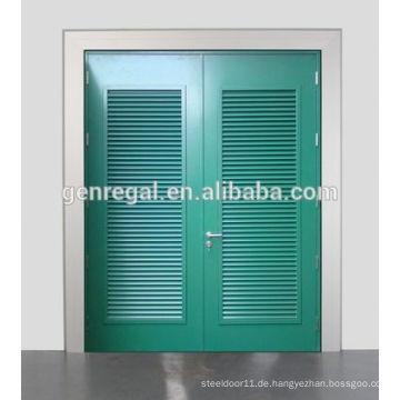 RAL Farbe Glavanisierte Jalousie Stahlmetall Tür