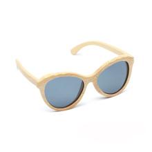 FQ-Markenhersteller verkauft kundenspezifische polarisierte Sonnenbrille des Skateboardholzes