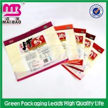 professional quality control high temperature vacuum food bag