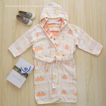 Baumwolle Mädchen Bademantel Bademantel für Kinder Baby Bademantel