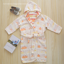 Cotton Girls Bathrobe Bathrobe For Kids Baby Bathrobe
