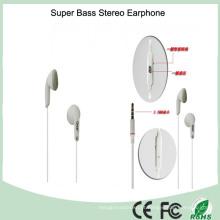 Fone de ouvido estéreo com cancelamento de ruído de 3,5 mm