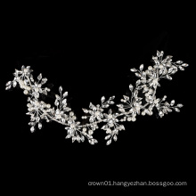 Hot selling shiny Handmade Crystal Bridal Hair Comb Women Headpieces Wedding Hair Accessories