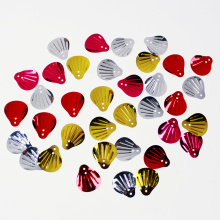 Colorful Shell shape sequin