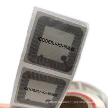 Livres Gestion des documents Étiquettes de bibliothèque RFID personnalisées