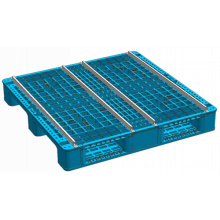 HDPE Heavy Duty Euro Plastic Pallet with Steel Tubes