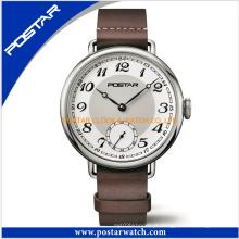 Relógio do presente do esporte do relógio de aço inoxidável da fábrica Newcome