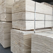 Choupos de álamo ou pinho LVL / LVB (comprimento até 8000 mm)