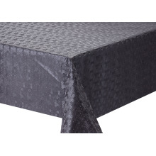 Solid Embossed Fabric Tischdecke Elegant