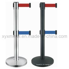 Double barrières rétractables à deux barres