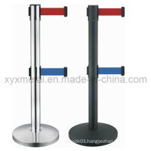 Double Tiers Twin Two Belt Retractable Barriers