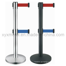 Double Tiers Twin Two Belt Retractable Barriers
