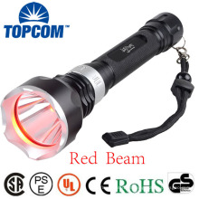 1000lumen T6 Lâmpada LED submarino mergulho lanterna feixe vermelho Tocha subaquática