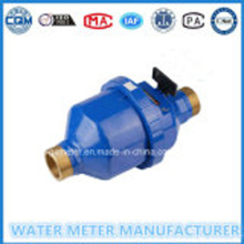 Blue Color Painting Volumetric Water Meter Dn15-25mm