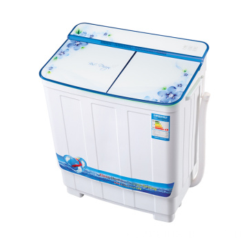 Blue Glass Cover 3.8KG Twin Tub Lavatrice