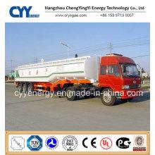 China 2015 LNG Lox Lin Lar Lco2 Tankwagen Auflieger mit ASME