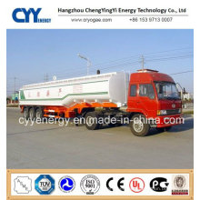 China 2015 LNG Lox Lin Lar Lco2 Tank Car Semi Trailer with ASME