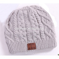 PK18ST011 knitting beanie hat with wireless earphone