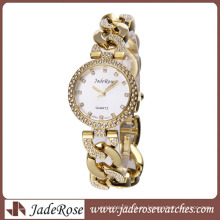 Venta caliente y elegante con reloj de pulsera de aleación