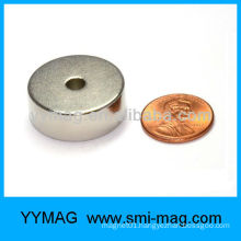 Permanent NdFeB round magnet hole