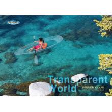 100% Transparente Touring Kayak