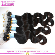 Hot Selling Fashion Hair Product Double Beads Micro Ring Hair Extensions For Black