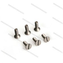 Prendedores Titanium escareados de alta resistência da cabeça M3