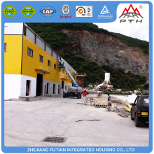 Modern tiny glass wool insulation steel warehouse