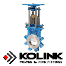 Non-rising Stem Knife gate valve