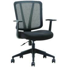 T-081A-1 2018 neuer Entwurf justierbarer Sitzhöhenstuhl-Maschenrückseitenstuhl für Bürogebrauch
